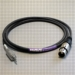 Canare Star Quad Audio Cable XLR Female to 3.5mm TRS Male 50 FT