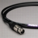 Canare Audio Interconnect XLR Male to XLR Female 2 FT