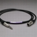 "Canare Audio Interconnect XLR Female to 1/4"" TS Male 2 FT"