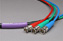 Canare Slim 3-Channel Component Video Cable BNC-BNC 5 FT