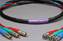 Canare Slim 3-Channel Component Video Cable BNC-RCA 5 FT