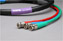Canare RG6 3-Channel HD-SDI Video Snake Cable BNC-BNC 100 FT