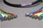 Canare Slim 5-Channel Component Video Cable BNC-BNC 5 FT