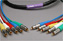 Canare Slim 5-Channel Component Video Cable RCA-RCA 5 FT