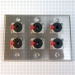 HAVE 3Gang Stainless Wallplate 6TRSF