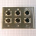 HAVE 3Gang Stainless Wallplate 6XLRF
