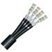 Sommer Cable 580-0311-04 Mercator 4-Channel CAT7 Cable - per foot