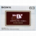Sony HD Mini DV 63 Min Videocassette No Chip
