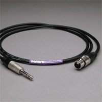 "Canare Audio Interconnect XLR Female to 1/4"" TRS Male 6 FT"