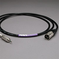 Canare Audio Interconnect XLR Male to 3.5mm TRS Male 25 FT