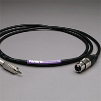 Canare Audio Interconnect XLR Female  to 3.5mm TRS Male 10 FT