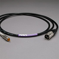 Canare Audio Interconnect XLR Male to RCA Male 2 FT