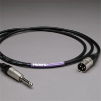 "Canare Audio Interconnect XLR Male to 1/4"" TS Male 6 FT"