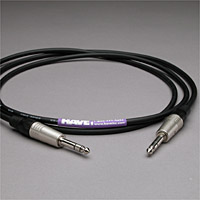 Canare Audio Interconnect 1/4-Inch TRS Male to Male 10 FT