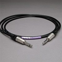 Canare Audio Interconnect 1/4-inch TS Male to TS Male 2 FT