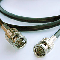 Canare L-3CFW Flexible RG59 HD-SDI SMPTE BNC Video Cable 2 FT