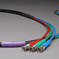 Canare Slim 3-Channel Component Video Cable BNC-BNC 15 FT
