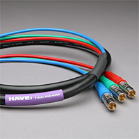 Canare Slim 3-Channel Component Video Cable RCA-RCA 10 FT
