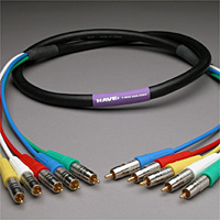 Canare Slim 5-Channel Component Video Cable RCA-RCA 50 FT