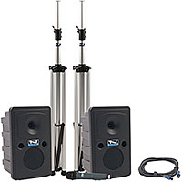 Anchor Audio GG-DP Go Getter Sound System Dual Package w/Bluetooth + CD/MP3 + 1 Wireless