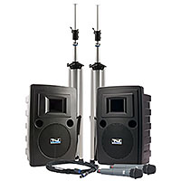Anchor Audio LIB-DPDUAL Liberty Platinum Portable Sound System Deluxe Package Dual
