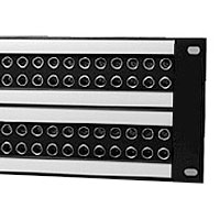 Canare 32MD-ST-2U Midsize Video Patchbay 2x32 2RU MDVJ-STW Jacks