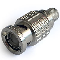 Canare BCP-D55UHD 75-Ohm UHD BNC Male Cable End Connector - Canare L-5.5CUHD