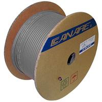 Canare L-4E4-4AT Starquad Audio Snake 4Ch 22G Foil - 100M (328 ft) Reel