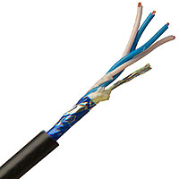 Canare L4E6AT Starquad Microphone Cable 20Awg Foil Shield - Cut