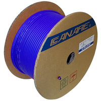 Canare L-4E6S Starquad Microphone Cable Blue - 200M (656 ft) Reel