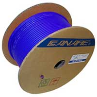 Canare L-4E6S Starquad Microphone Cable Blue - 305M (1000 ft) Reel