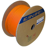 Canare L-4E6S Starquad Microphone Cable Orange - 200M (656 ft) Reel