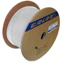 Canare L-4E6S Starquad Microphone Cable White - 200M (656 ft) Reel