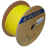 Canare L-5CFB SDI RG6 Video Coax Cable 18AWG Yellow - 300M (984 ft) Reel