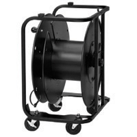 Hannay AVD-2 Cable Reel with Slotted Disc and Casters