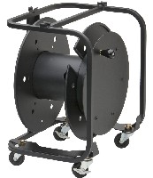 Hannay AVD-3 Cable Reel W/Slotted Disc Divider & Connector Panel W/Casters