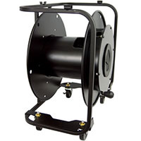 Hannay AVF-18C Broadcast Fiber Optic Cable Reel w/ Casters