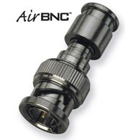 BNC Male HD Broadcast Air Compression Connector, Mini RG59 20 Pack