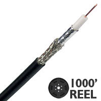 Lake AVB23HDTV 23G High Definition Mini Coaxial Cable - 1000 FT