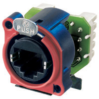 RJ45 Receptacle Housing W/Insert Krone