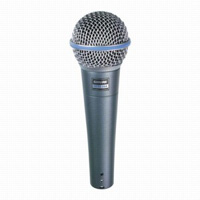 Shure BETA 58A Super Cardioid Vocal Microphone