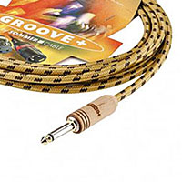 Sommer Cable SC-Classique Guitar Cable with HICON Woodplug, Yellow 20 FT