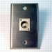 HAVE 1GANG STAINLESS WALLPLATE 1F CONN From HAVE Incorporated