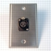 HAVE 1GANG STAINLESS WALLPLATE 1BG XLRF From HAVE Incorporated