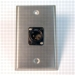 HAVE 1GANG STAINLESS WALLPLATE 1BG XLRM From HAVE Incorporated