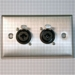 HAVE 1GANG STAINLESS WALLPLATE 2COMBO From HAVE Incorporated