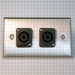 HAVE 1GANG STAINLESS WALLPLATE 2NL2MP From HAVE Incorporated