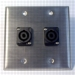 HAVE 2GANG STAINLESS WALLPLATE 2NL2MP From HAVE Incorporated