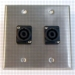 HAVE 2GANG STAINLESS WALLPLATE 2NL4MP From HAVE Incorporated