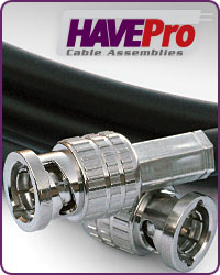 Canare Cable Assemblies by HAVEPro at HAVE, Inc.